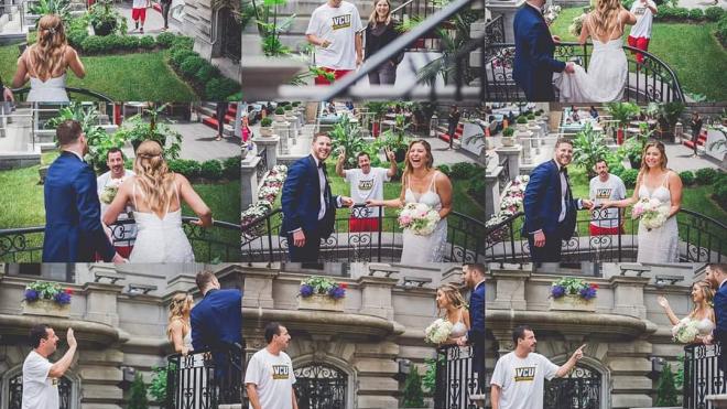 Поклонники пригласили Адама Сэндлера на свадьбу, и он пришел