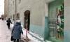 Петербургским активистам удалосьвосстановить закрашенное коммунальщиками граффити с дверью в Новый год