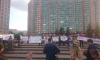 В Шушарах митингуют: жители требуют строительства детских садов и школ