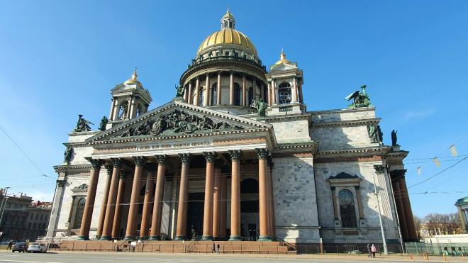 Возле Исаакиевской площади до конца ноября ограничат проезд