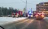 Скорая и легковушка не поделили дорогу в Приморском районе
