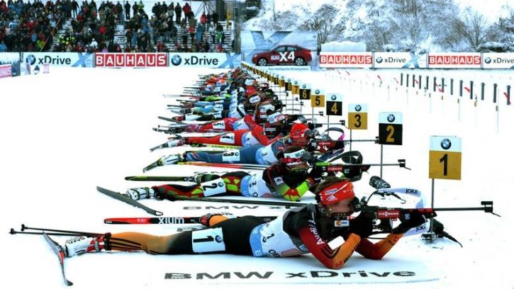 Спринтерские гонки в Рупольдинге