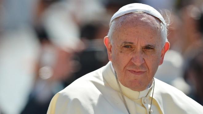 Папа Римский Франциск заберет с Лесбоса 12 беженцев из двух миллионов