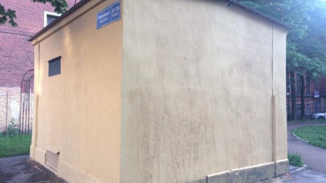 В Петербурге закрасили граффити с Иваном Васильевичем