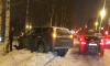 Петербург сковали пробки из-за многочисленных ДТП