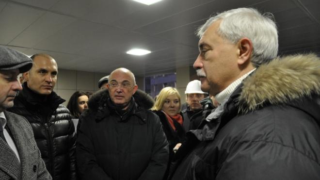 Георгий Полтавченко осмотрел главные стройобъекты города