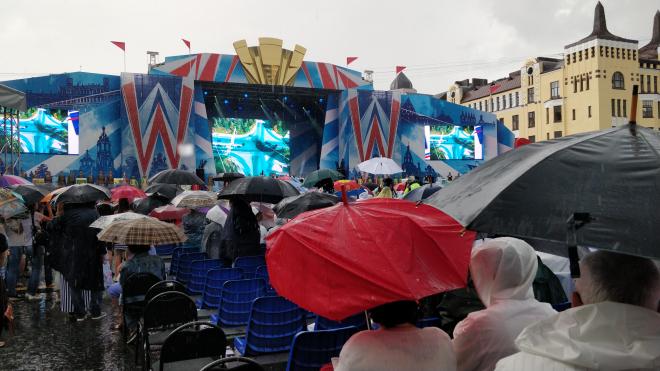 Плохая погода не смогла испортить праздник в Выборге