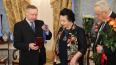 Беглов наградил оперную диву Ирину Богачеву знаком ...