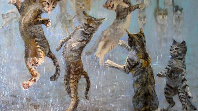 """Выставка """"Портрет кошки"""""""