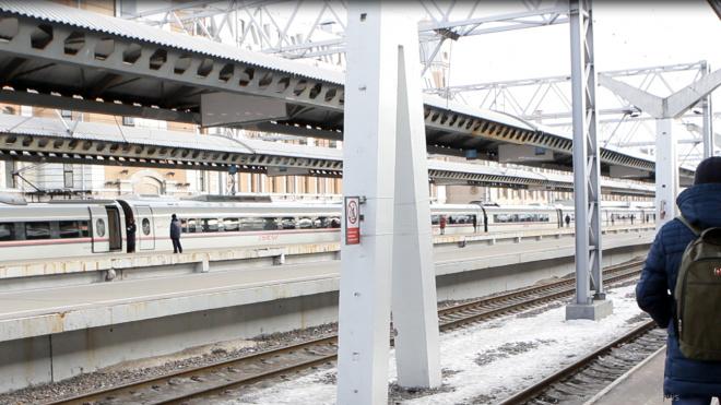 В СЗФО произошли задержки дальних поездов из-за непогоды