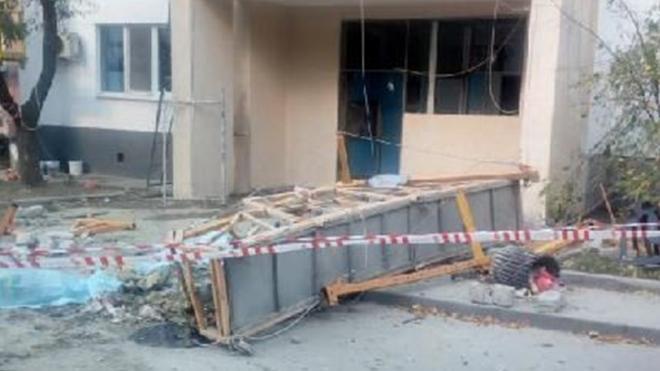 В Москве при падении строительной люльки погибли двое рабочих