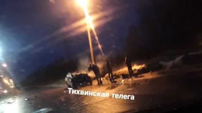 В ДТП в Тихвинском районе Ленобласти погиб мужчина