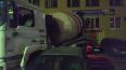 На Косыгина бетономешалка собрала восемь припаркованных ...