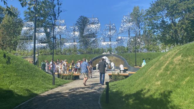 """Парк """"Остров фортов"""" открылся в Кронштадте. Как это было"""