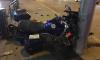 У Гренадерского моста из-за неудачного маневра автомобилиста пострадал мотоциклист