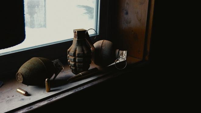 В Петергофе найден минометный снаряд времен ВОВ