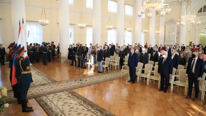Агапитова, Спивак и Ковальчук получили госнаграды в Петербурге
