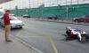 ДТП на проспекте Стачек: сбили молодого мотоциклиста