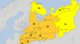 В Петербурге и области введен оранжевый уровень опасност...