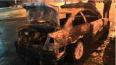 За ночь в Петербурге сгорели два автомобиля