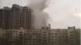 """Появились фото утреннего пожара в ЖК """"Лондон Парк"""""""