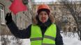 Дружинники помогли коммунальщикам убрать снег в Петербур...