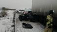 В Татарстане в лобовом ДТП с двумя грузовиками погибла ...