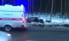 В тройном ДТП на Дороге Жизни погибло 2 человека, пострадали дети