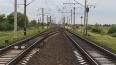На станции Большая Ижора электричка встала из-за обрыва ...