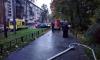 На улице Костюшко загорелась квартира