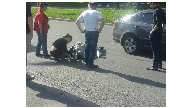 На Малой Балканской сбили мужчину