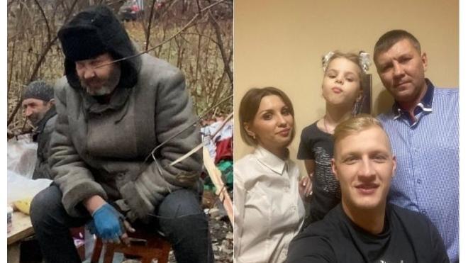 Петербуржец смог вернуть в семью сибиряка, оказавшегося бездомным