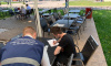 В Петербурге снесли незаконные летние кафе