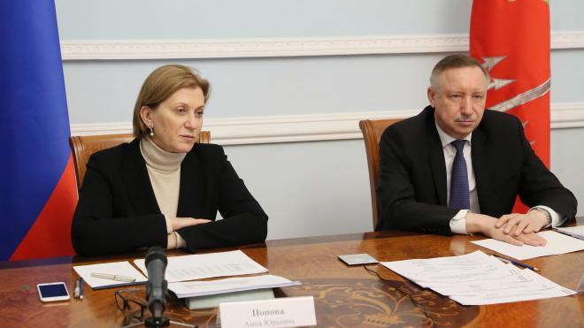 Глава Роспотребнадзора посетила Петербург и оценила ситуацию с коронавирусом