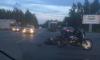 """На Лагерном шоссе мотоциклистка """"залетела"""" под автобус с пассажирами"""