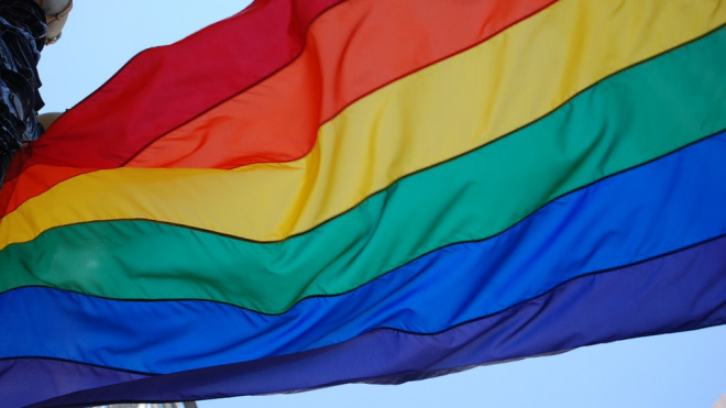 На Дворцовой площади задержали участников ЛГБТ-акции