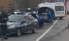 """После ДТП в Колпинском районе женщину пришлось """"вырезать"""" из машины"""