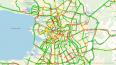 Город встал в предпраздничной пробке: на дорогах 7 балло...