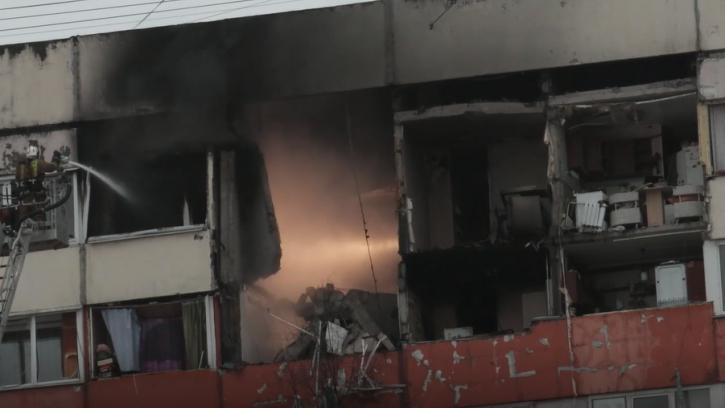 Пострадавшие при взрыве дома на Народного Ополчения находятся под опекой соцработников