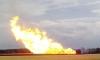 Под Луганском взорвался магистральный газопровод