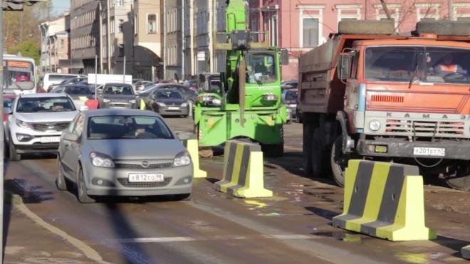 Три троллейбусных маршрута будут изменены из-за ремонта Ленинского проспекта в Петербурге