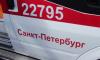На севере Петербурга автобус врезался в машину скорой помощи