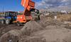 В Кудрово разрастается новая свалка