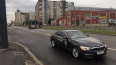 "На пустом проспекте Косыгина столкнулись ""Nissan Tiida"" ..."
