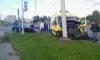 Машина реанимации попала в ДТП на перекрестке Оптиков и Яхтенной: есть пострадавшие