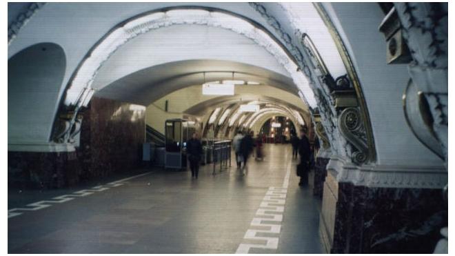 Поезда в метро Петербурга встали из-за гулявшего по рельсам пассажира