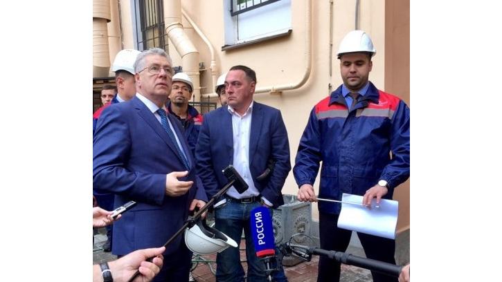 Жилищный комитет проверил выполнение работ по капитальному ремонту фасадов в Центральном районе города