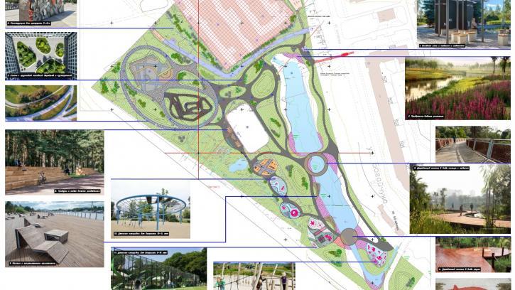 В 2021 году в Металлострое появится общественное пространство со скейт-площадкой и цветниками