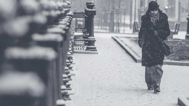 Петербуржцев предупредили о надвигающемся снегопаде