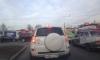 На пересечении Культуры и Тихорецкого проспекта возник транспортный коллапс